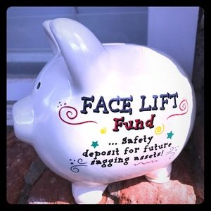 NEW! Funny piggy bank Face Lift 😂